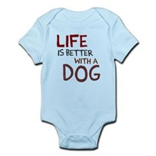 Life is better with a dog Onesie