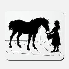 Horse & Girl Mousepad