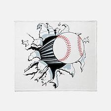 Breakthrough Baseball Throw Blanket