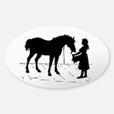 Horse & Girl Decal