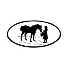 Horse & Girl Patches
