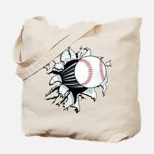 Breakthrough Baseball Tote Bag
