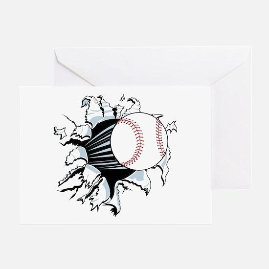Breakthrough Baseball Greeting Card