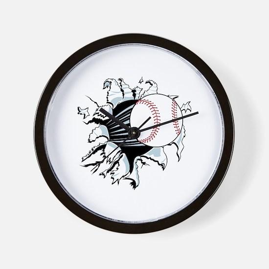 Breakthrough Baseball Wall Clock