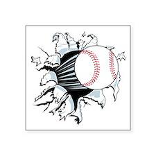 Breakthrough Baseball Square Sticker 3