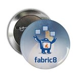 """Fabric8 Logo 2.25"""" Button (10 Pack)"""