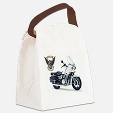 KZ with Police Motor UNits.com Logo Canvas Lunch B