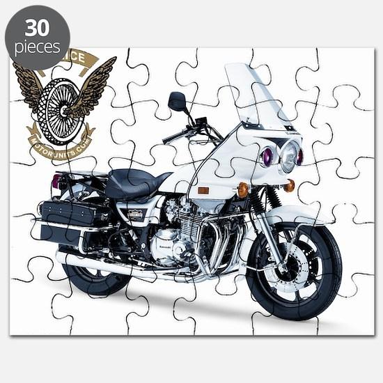 KZ with Police Motor UNits.com Logo Puzzle