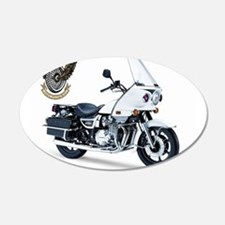 KZ with Police Motor UNits.com Logo Wall Decal