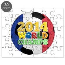 2014 World Champs Ball - France Puzzle