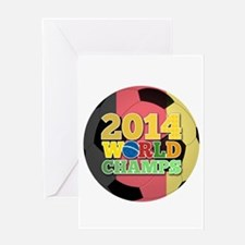 2014 World Champs Ball - Belgium Greeting Cards