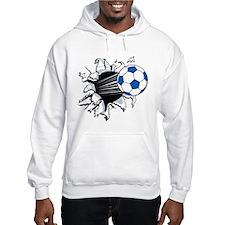Breakthrough Soccer Ball Hooded Sweatshirt