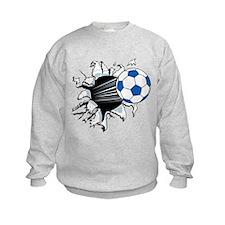 Breakthrough Soccer Ball Sweatshirt