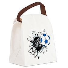 Breakthrough Soccer Ball Canvas Lunch Bag