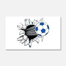 Breakthrough Soccer Ball Car Magnet 20 x 12