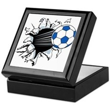 Breakthrough Soccer Ball Keepsake Box