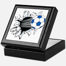 Breakthrough Soccer Ball Keepsake Box