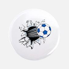 """Breakthrough Soccer Ball 3.5"""" Button"""