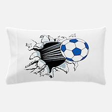 Breakthrough Soccer Ball Pillow Case