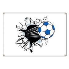 Breakthrough Soccer Ball Banner