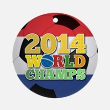 2014 World Champs Ball - Holland Ornament (Round)