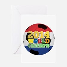 2014 World Champs Ball - Holland Greeting Cards