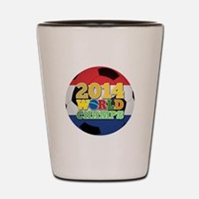 2014 World Champs Ball - Holland Shot Glass
