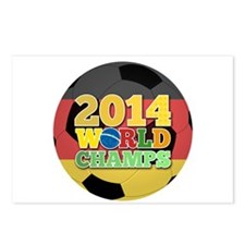 2014 World Champs Ball - Germany Postcards (Packag