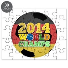 2014 World Champs Ball - Germany Puzzle