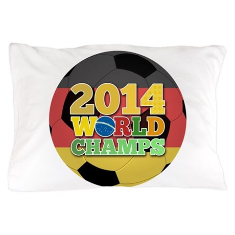 2014 World Champs Ball - Germany Pillow Case