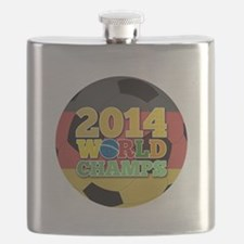 2014 World Champs Ball - Germany Flask