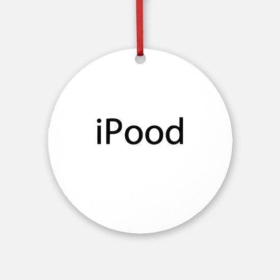 iPood Baby Humor Ornament (Round)