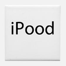 iPood Baby Humor Tile Coaster