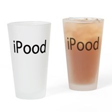 iPood Baby Humor Drinking Glass