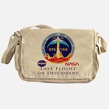 Last Flight of Discovery Messenger Bag