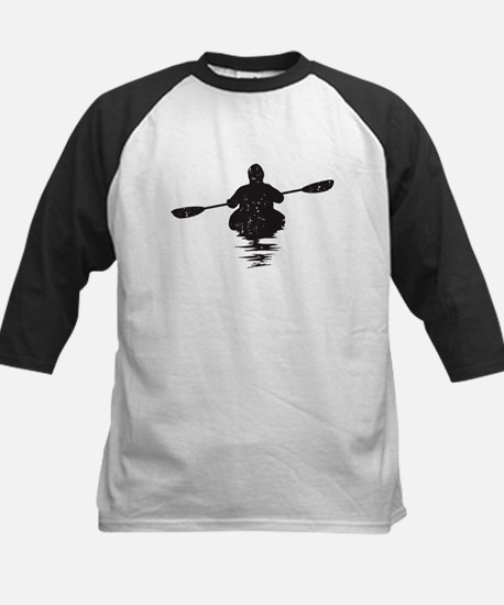 Kayaking Kids Baseball Jersey