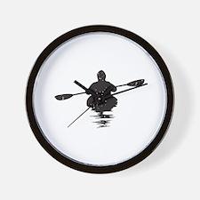 Kayaking Wall Clock