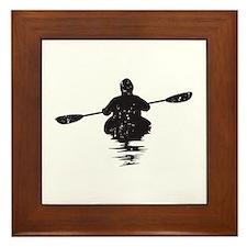 Kayaking Framed Tile