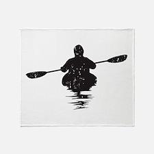 Kayaking Throw Blanket