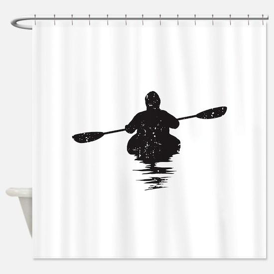Kayaking Shower Curtain