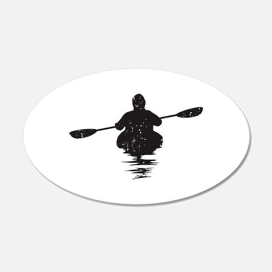 Kayaking Wall Sticker