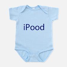 iPood Funny Blue Infant Bodysuit