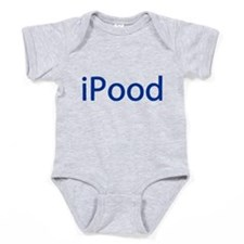 iPood Funny Blue Baby Bodysuit