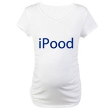 iPood Funny Blue Shirt