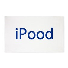 iPood Funny Blue 3'x5' Area Rug