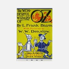 Denslow Wizard Of Oz Rectangle Magnets