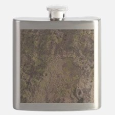 Lichen and Rock Flask