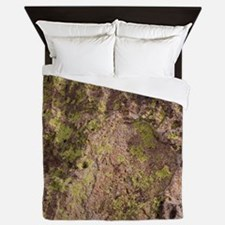 Lichen and Rock Queen Duvet