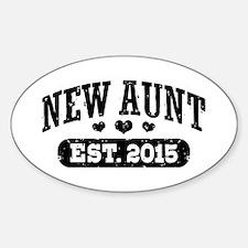 New Aunt Est. 2015 Decal