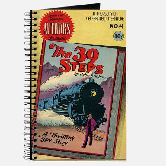 The 39 Steps Comic Book Journal